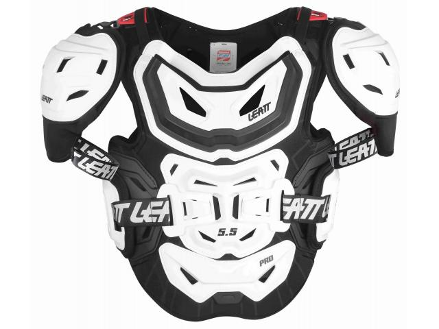 PETTORINA CHEST PROTECTOR 5.5 PRO WHITE