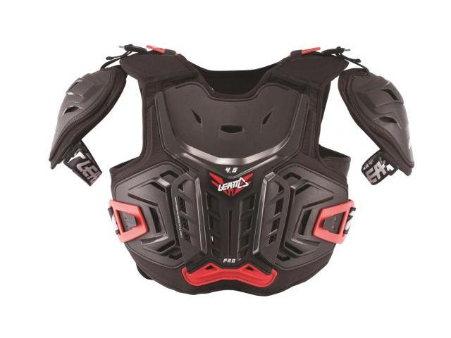 Pettorina Leatt Junior Chest Protector 4.5 Pro Black/Red