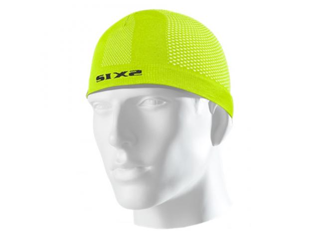 CALOTTA SOTTOCASCO SCX CARBON UNDERWEAR - YELLOW FLUO