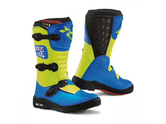 STIVALE COMP KID ROYAL BLUE / YELLOW FLUO
