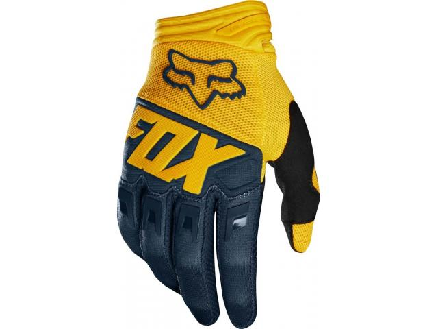 GUANTI FOX DIRTPAW NAVY-YELLOW 2019