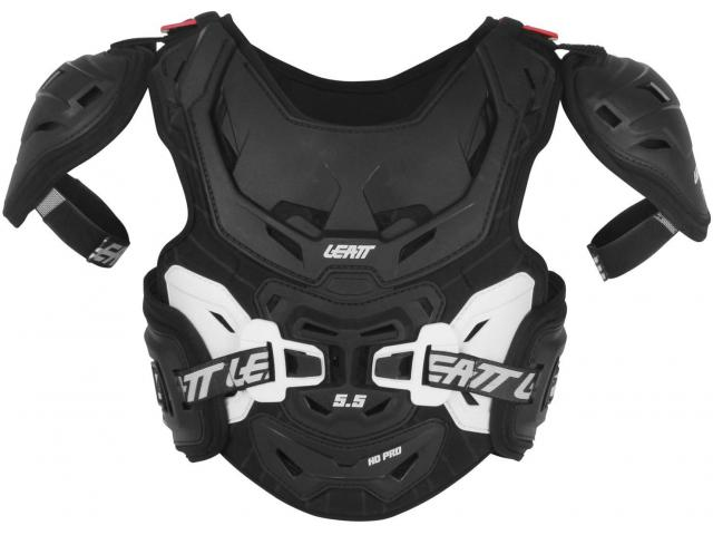 PETTORINA CHEST PROTECTOR 5.5 PRO  HD JUNIOR BLACK/WHITE