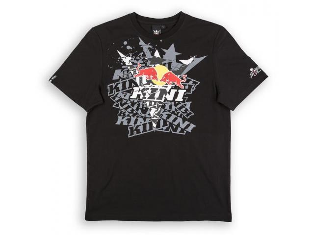 T-SHIRT KINI RED BULL FADE TEE BLACK