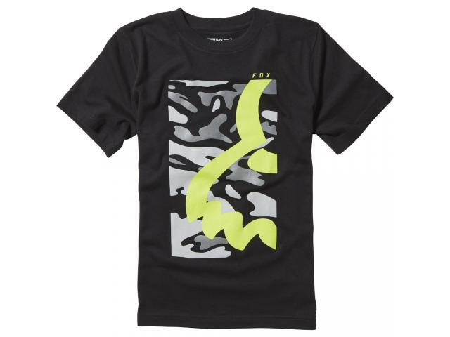 T-SHIRT YOUTH EYECON BOX SS TEE BLACK