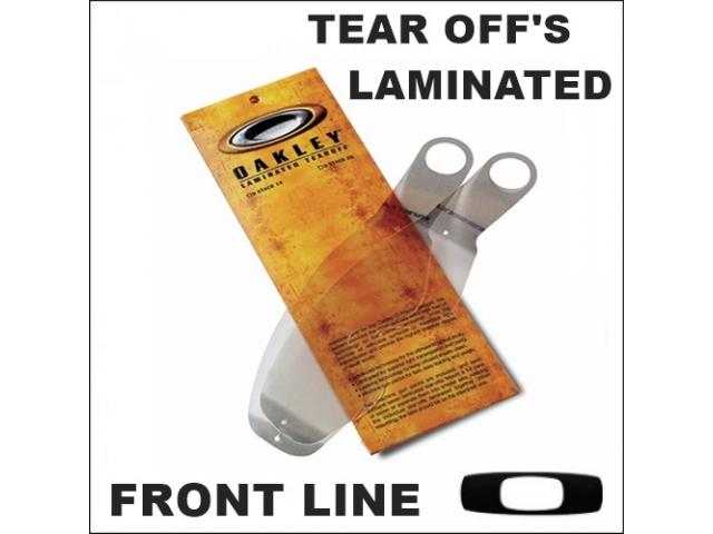 OAKLEY TEAR OFF'S LAMINATED FRONT LINE 14 PZ.