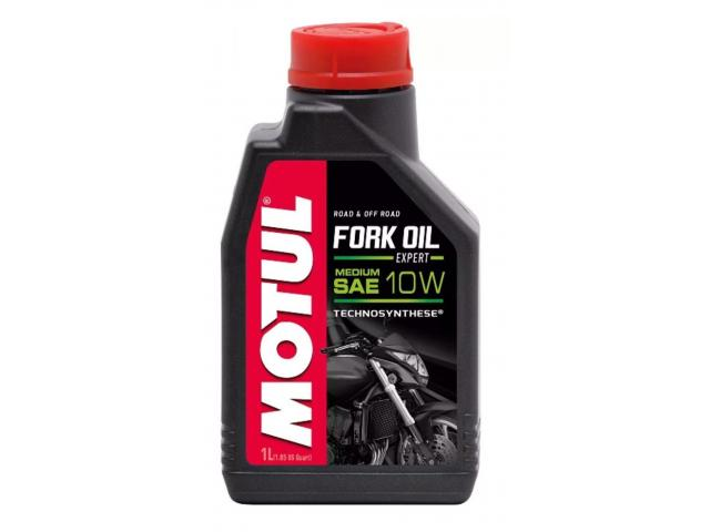 1 LITRO OLIO MOTUL FORK OIL EXPERT 10W LIGHT TECHNOSYNTHESE