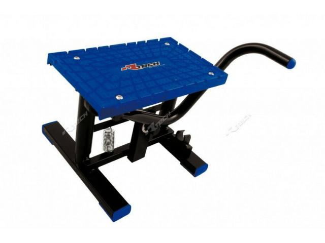 CAVALLETTO PER MINICROSS LEVA CROSS RIPIANO TPU NERO-BLU