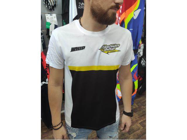 T-SHIRT FASHIONBIKE BLACK-WHITE 2020