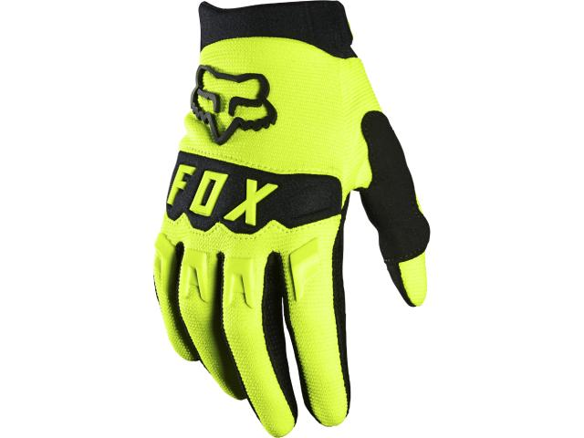 GUANTO FX YOUTH DIRTPAW GLOVE 2021 - FLUORESCENT YELLOW