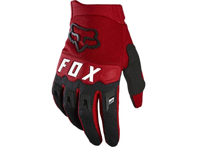 GUANTO FX BAMBINO DIRTPAW GLOVE 2021 - FLAME RED