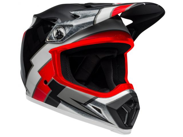 CASCO BELL MX-9 MIPS TWITCH REPLICA BLACK/RED
