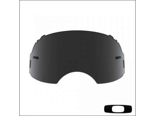 OAKLEY AIRBRAKE LENTE DI RICAMBIO SCURA PLUTONITE DARK GREY