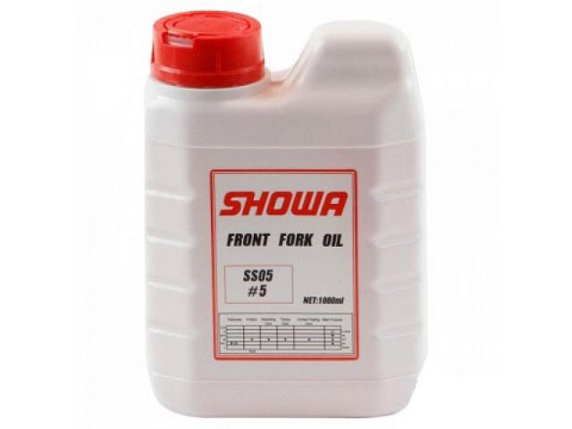 OLIO FORCELLE SHOWA RACING 5WT (FLACONE LITRO)