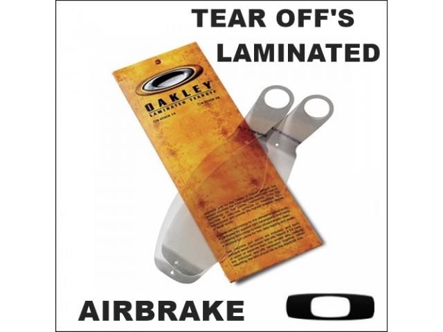 OAKLEY TEAR OFF'S LAMINATED AIRBRAKE 14 PZ.