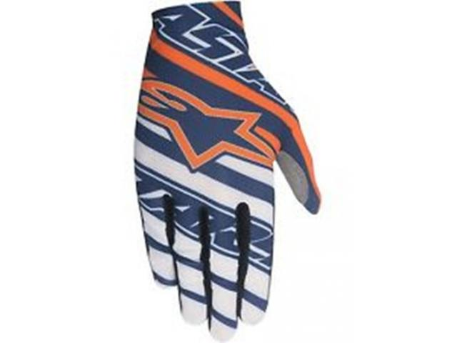 GUANTI CROSS  DUNE NAVY WHITE ORANGE