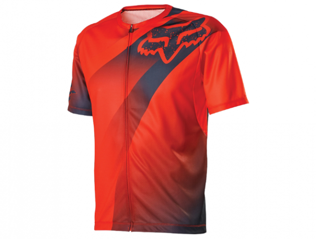 MAGLIA MTB  LIVEWIRE DESCENT FLO ORANGE